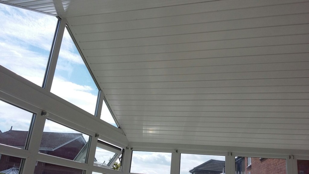 conservatory roof cladding